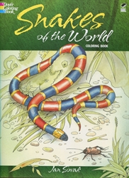 Snakes of the World - Coloring Book