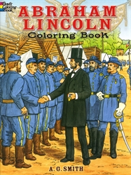 Abraham Lincoln - Coloring Book