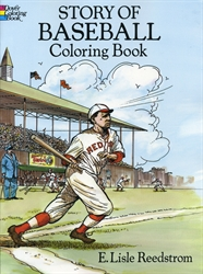 Story of Baseball - Coloring Book