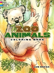 Zoo Animals - Coloring Book