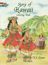 Story of Hawaii - Coloring Book