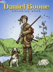 Daniel Boone - Coloring Book