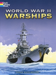 World War II Warships - Coloring Book