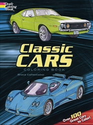 Classic Cars - Coloring Book