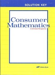 Consumer Mathematics - Solution Key