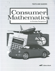 Consumer Mathematics - Test/Quiz Book