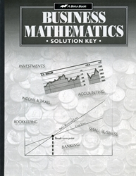 Business Mathematics - Solution Key