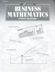 Business Mathematics - Test/Quiz Book