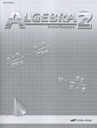 Algebra 2 - Test/Quiz Book