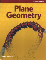 Plane Geometry - Teacher Edition