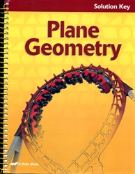 Plane Geometry - Solution Key