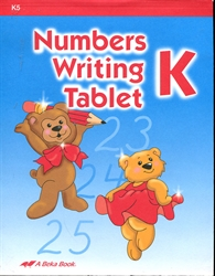 Numbers Writing Tablet (old)