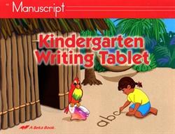8142 - Kindergarten Writing Tablet