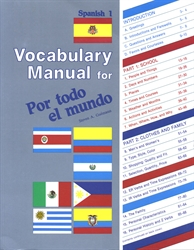 Spanish 1 - Vocabulary Manual