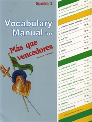 Spanish 2 - Vocabulary Manual