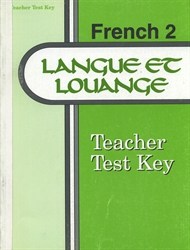 French 2 - Test Key