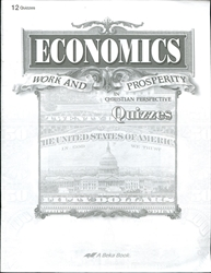 Economics: Work and Prosperity - Quiz Book (old)