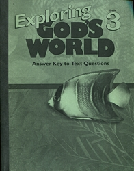 Exploring God's World - Answer Key (old)