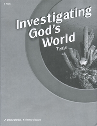 Investigating God's World - Test Book (old)