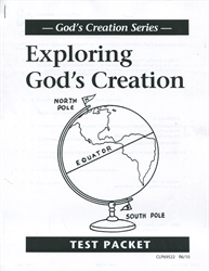 Exploring God's Creation - Tests
