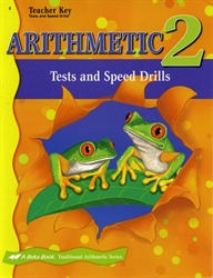 Arithmetic 2 - Tests/Speed Drills Key (old)