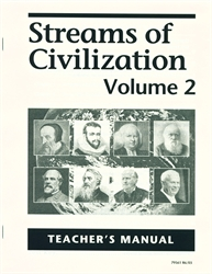 Streams of Civilization Volume Two - Teacher's Manual (old)