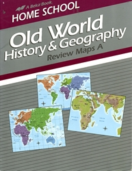 Old World History & Geography - Map A Book (old)