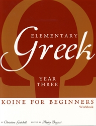 Elementary Greek Year Three - Workbook