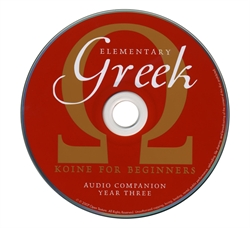 Elementary Greek Year Three - Audio Companion CD
