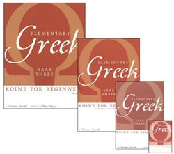 Elementary Greek Year Three - Bundle