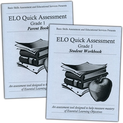 ELO Quick Assessment Grade 1 - Set
