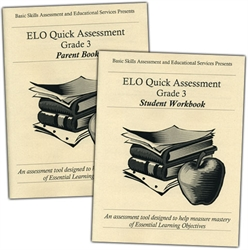 ELO Quick Assessment Grade 3 - Set