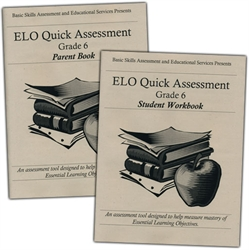ELO Quick Assessment Grade 6 - Set