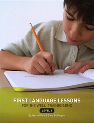 First Language Lessons Level 3 - Instructor Book