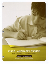 First Language Lessons Level 3 - Workbook