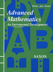Saxon Advanced Math - Answer Key only