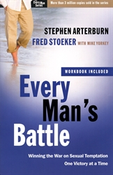 Every Man's Battle (workbook included)