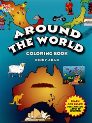 Around the World - Coloring Book