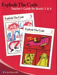 Explode the Code 3 & 4 - Teacher's Guide (old)
