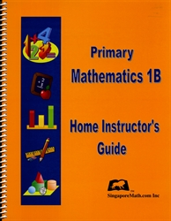 Primary Mathematics 1B - Home Instructor's Guide