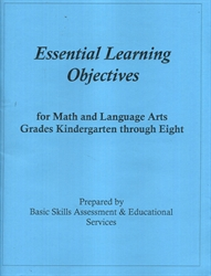 Essential Learning Objectives for Math and Language Arts