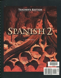 Spanish 2 - Teacher Edition