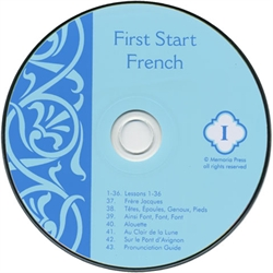 First Start French Level I - Pronunciation CD