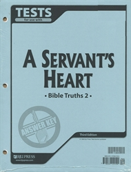 Bible Truths 2 - Test Answer Key (old)