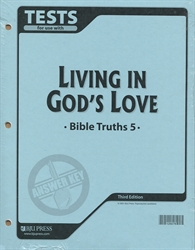 Bible Truths 5 - Test Answer Key (old)