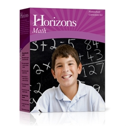 Horizons Math K - Boxed Set