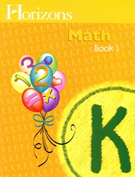 Horizons Math K - Book One