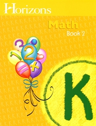 Horizons Math K - Book Two