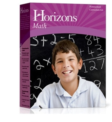 Horizons Math 2 - Boxed Set