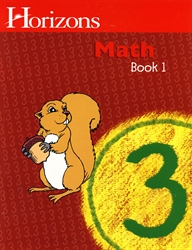 Horizons Math 3 - Book One